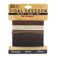 Vidal Sassoon No Crimper Braided Elastics