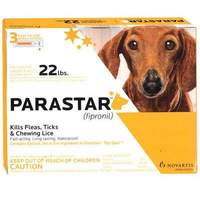 Parastar 3pk 4-22lb Flea & Tick