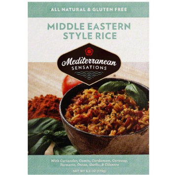 Mediterranean Sensations Middle Eastern Style Rice Mix, 6 oz, (Pack of 12)