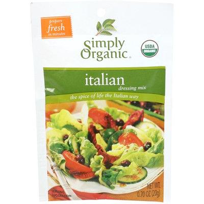 Simply Organic Certified Organic Italian Salad Dressing