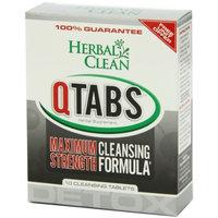 B.N.G. Herbal Clean Detox Q Tabs Maximum Strength Cleansing Formula, 10 Count