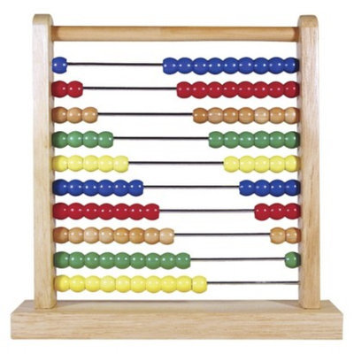 Melissa & Doug Wooden Toy Abacus