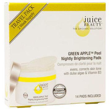 Juice Beauty Green Apple Peel Nightly Brightening Pads Travel Pack 14ea, 1 ea