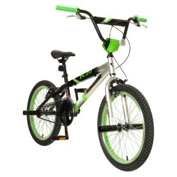 Kawasaki Boy's KX20 20 BMX Bike - Green/Black