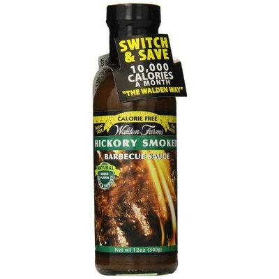 Walden's Farm Walden Farms Hickory Smoked BBQ Sauce, 12 Ounce