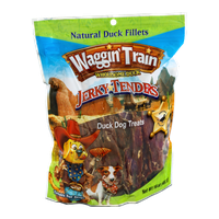Waggin' Train Wholesome Duck Jerky Tenders Dog Treats