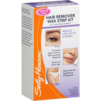 Sally Hansen Wax Strips Hair Remover Kit For Face