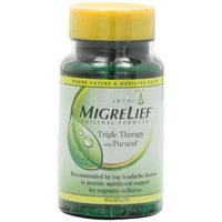 Migrelief Original Formula, Triple Therapy with Puracol, 60-Caplets (Pack of 2)