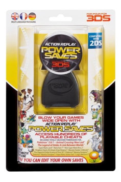 Datel Action Replay Power Saves Cheat Codes For Nintendo 3DS