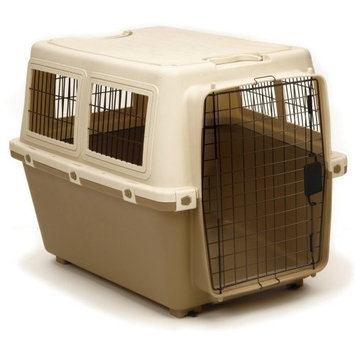 Unknown Precision Pet Cargo Kennel - Tan/Caramel