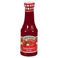 Smuckers Smucker's Strawberry Syrup, 12-Ounce Glass (Pack of 6)