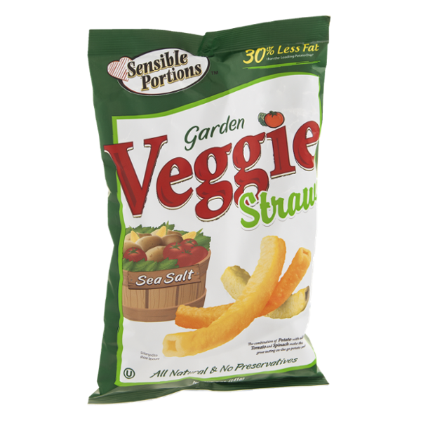 Sensible Portions Veggie Straws Garden Reviews
