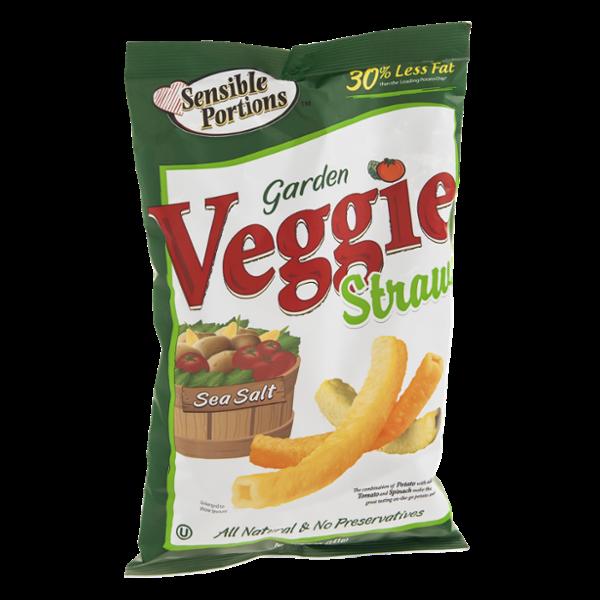Sensible Portions Veggie Straws Garden Reviews