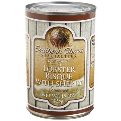 Southern Shores Specialties Lobster Bisque with Sherry, 15-Ounce Tins (Pack of 4)