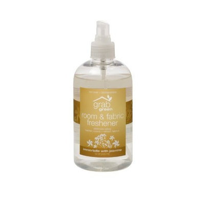 Grab Green GrabGreen Room and Fabric Freshener, Immortelle with Jasmine, 12 Ounce (Pack of 2)