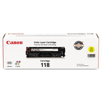 Canon 2659B001 (118) Toner, 2900 Page-Yield, Yellow