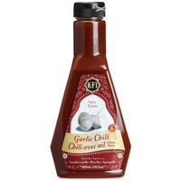KFI Garlic Chili Chutney Sauce, spicy, 15.4-Ounce Bottles (Pack of 3)