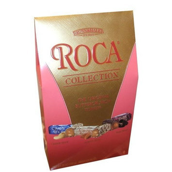 Almond Roca Brown & Hailey Roca Collection the Original Buttercrunch Toffee Almond/Cashew and Dark Roca 28 Oz BAG MADE IN USA