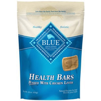 BLUE Health Bars Baked w/ Chicken Liver Biscuits for Dogs 1lb