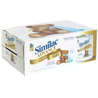 Similac Advance Milk Based Infant Formula with Iron, Ready to Feed