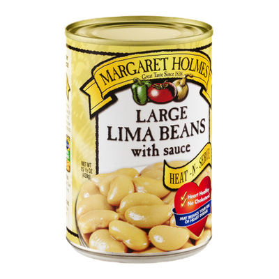 Margaret Holmes Large Lima Beans with Sauce