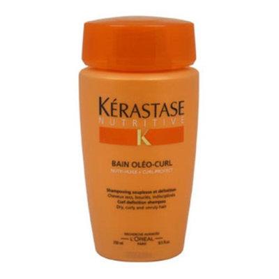 Kerastase 250097 Nutritive Bain OleoCurl Shampoo by Kerastase for Unisex 8.5 oz Shampoo