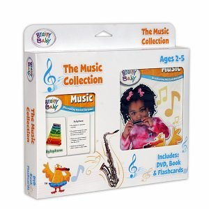 Brainy Baby Music Collection Ages 2-5
