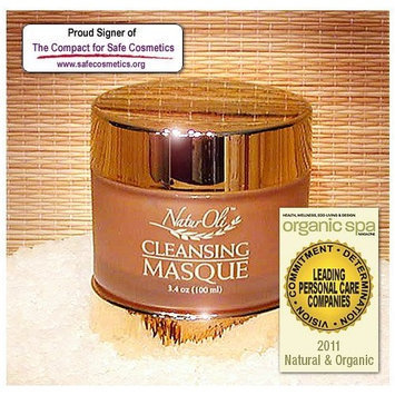 NaturOli Instensive Cleansing Masque - 3.4 oz. One of the most potent, deeply cleaning, highly effective facial clay masques on the market today! 100% natural! - Excellent acne treatment! - Made in USA!