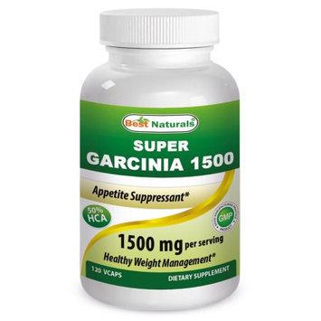Best Naturals, SUPER GARCINIA 1500 (Garcinia Cambogia Extract 500 mg per capsule) - 120 Veggie Capsu