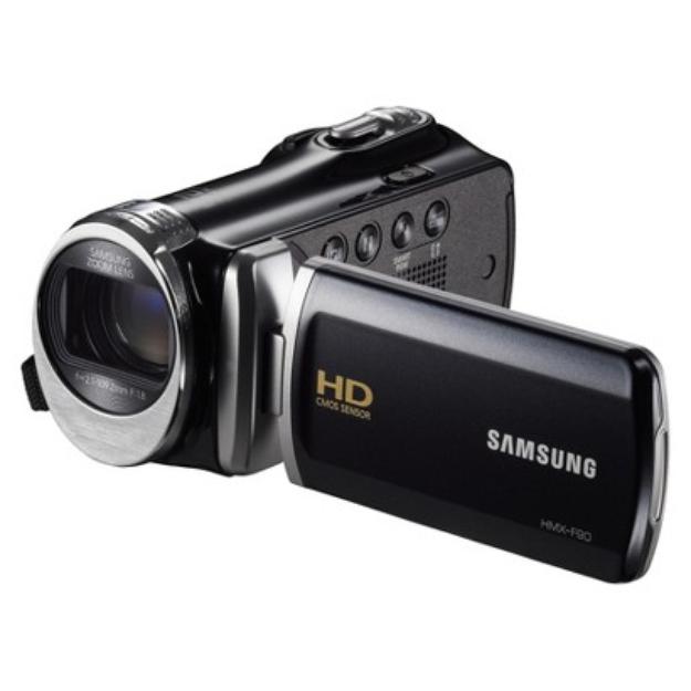 Samsung HD 52x Optical Zoom Camcorder in Black