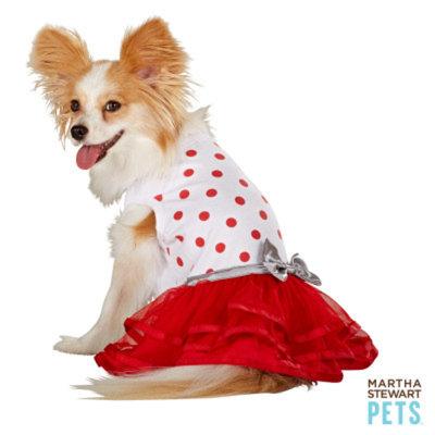 Martha Stewart PetsA Dotted Holiday Dress