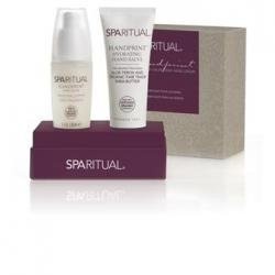 SpaRitual - Hand Repair Gift Set (Handprint Hydrating Hand Salve and Hand Serum Duo) - Beauty