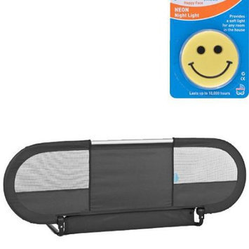Babyhome 00205CG10 Side Bedrail - Graphite with Night Light