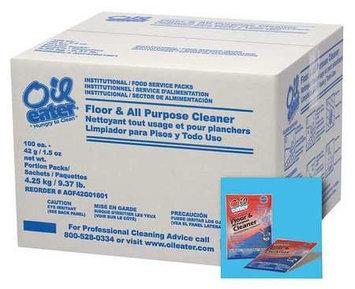 OIL EATER AOF42G01801 Floor Cleaner, Odorless,1.5 oz, PK100