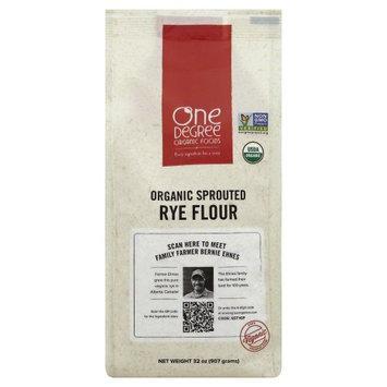 One Degree Organic Foods FLOUR, OG2, SPRTD, RYE, (Pack of 6)