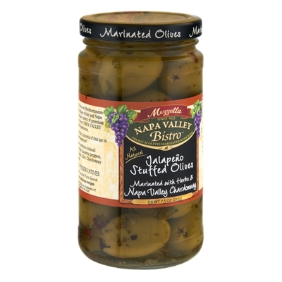 Mezzetta Napa Valley Bistro All Natural Jalapeno Stuffed Olives