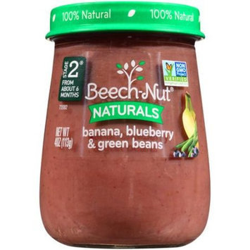 Beech-Nut Naturals Banana, Blueberry & Green Beans Stage 2 Baby Food, 4 oz