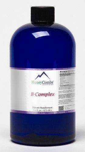 HoneyCombs Vitamin B-Complex Alcohol Free (Liquid)