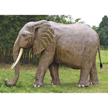 Design Toscano Enormous African Elephant Statue