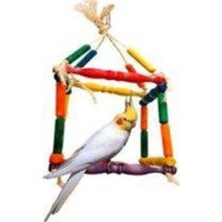 Zoo Max Single Cube Bird Toy 14 in x 6 in