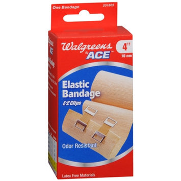 Walgreens Bandage With Clips, 4 Inch, 1 ea