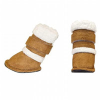 Hugs Pet Products Pugz Shoes for Dogs Large Brown, 1 ea