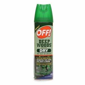 Deep Woods Off! Deep Woods Dry Aerosol Insect Repellent