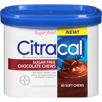 Citracal Sugar Free Chocolate Chews