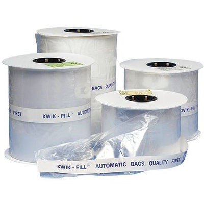 Value Brand KF0305HD Lay Flat Poly Bag, LDPE, 5InL, 3InW, PK1500