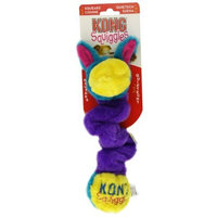KONG Squiggles Dog Toy, Colors vary, Assorted