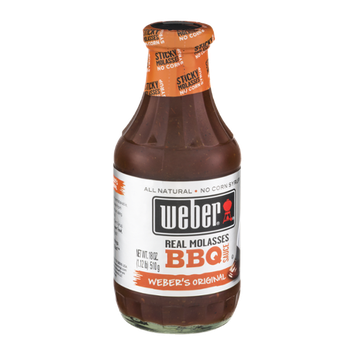 Weber Real Molasses BBQ Sauce Weber's Original