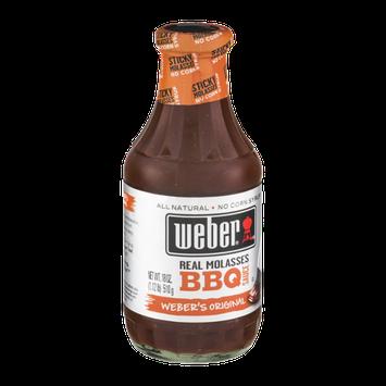 Weber Real Molasses BBQ Sauce Weber's Original