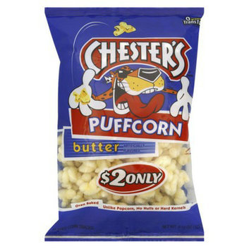 Chester's Puffcorn Butter Puffed Corn Snacks 4.5 oz