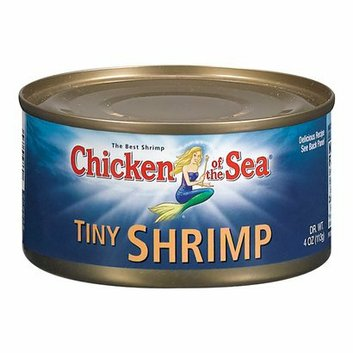 Chicken of the Sea Tiny Shrimp 4-oz.